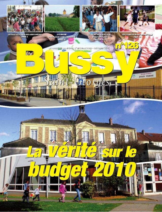 Journal de bussy numéro 126