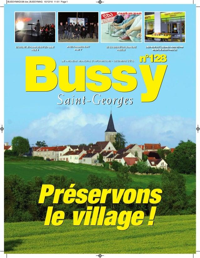 BUSSYMAG128 der_BUSSYMAG 15/12/10 11:51 Page1      LE SOLDAT DE PLOMB SÉDUIT LE PUBLIC      LE SOLDAT DE PLOMB SÉDUIT LE P...