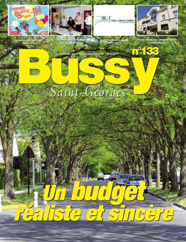 BUSSYMAG133_GABARIT BUSSYMAG NEW2009 30/05/11 16:19 Page1         COUREZ AU FESTIVAL DE BD!      UNE ÉMOUVANTE CONFÉRENCE ...