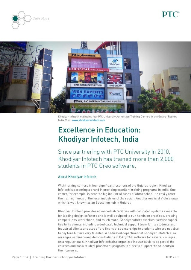 Excellence In Education: Khodiyar Infotech, India