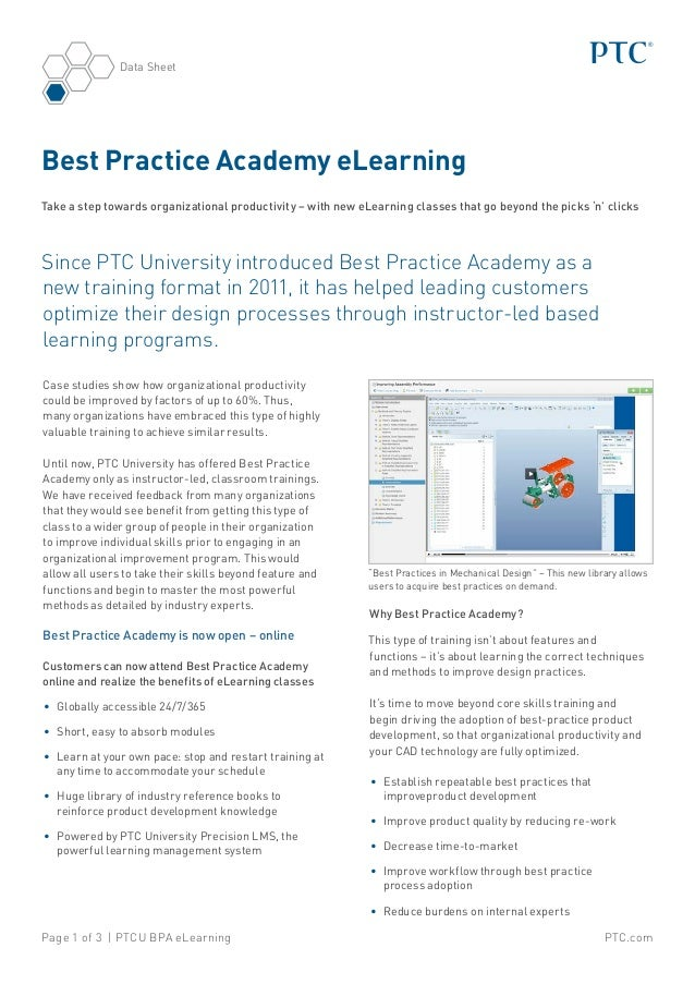 Best Practice Academy eLearning: Take a step towards organizational productivity