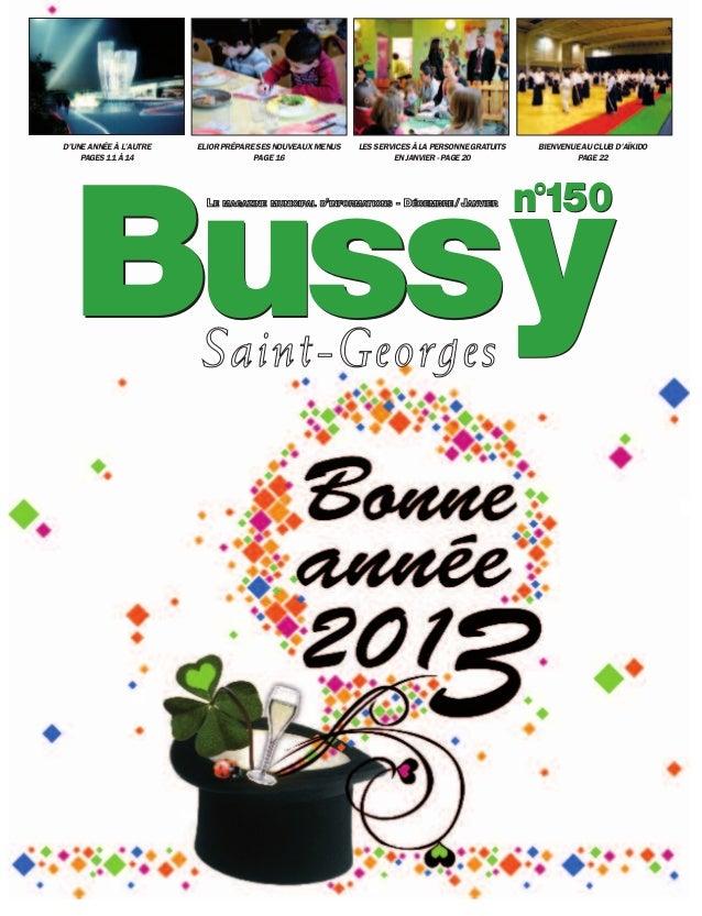 Journal de bussy numéro 150