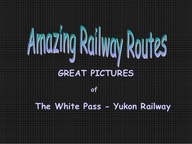 J18 alaska railroutes