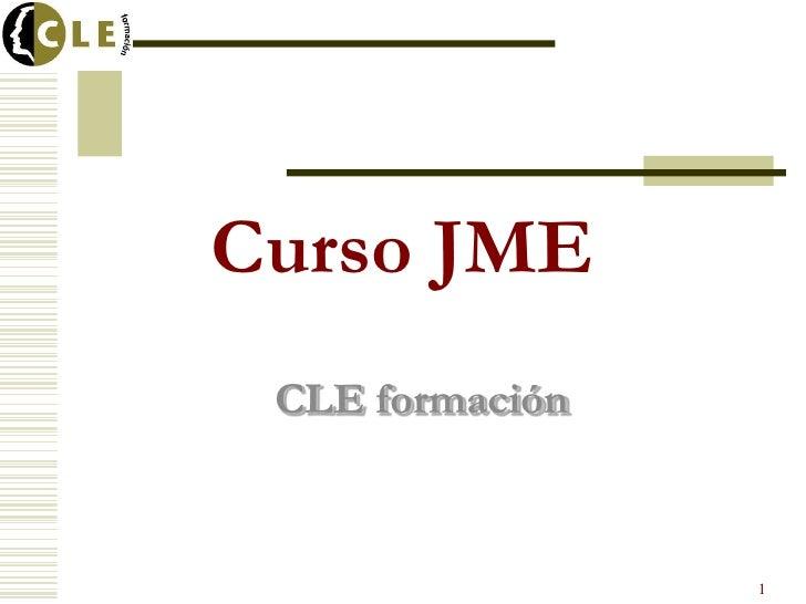 Curso JME CLE formación                 1