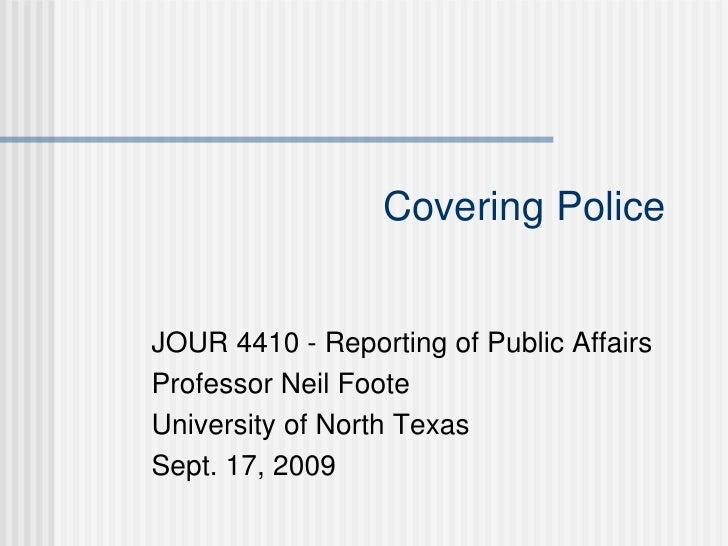 J4410 Covering Police   Sept 17 2008