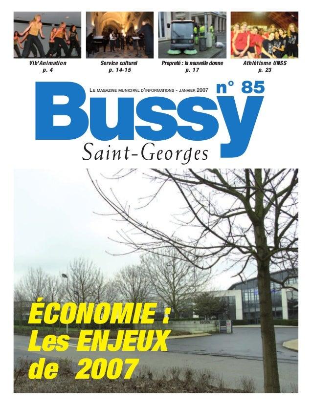 Vib'Animation       Service culturel          Propreté : la nouvelle donne   Athlétisme UNSS     p. 4              p. 14-1...
