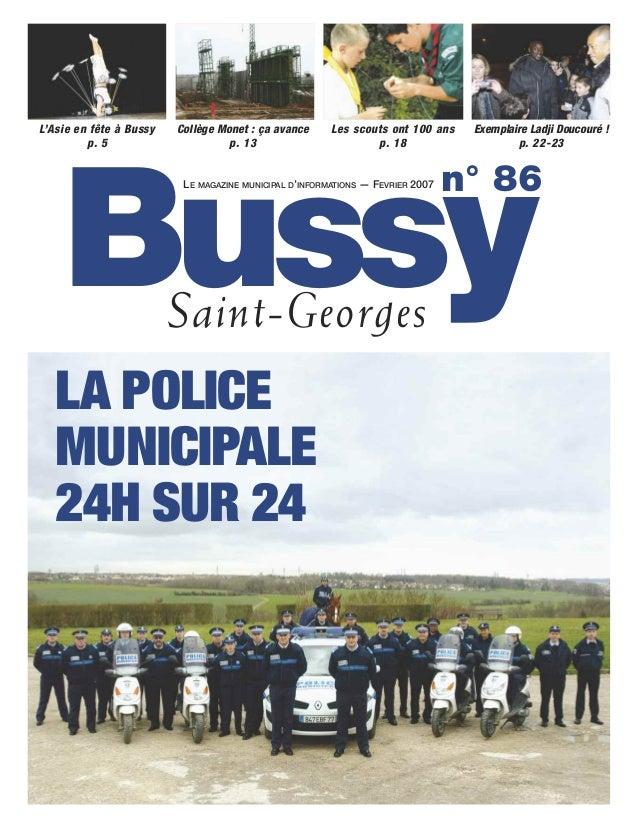 L'Asie en fête à Bussy   Collège Monet : ça avance      Les scouts ont 100 ans   Exemplaire Ladji Doucouré !         p. 5 ...