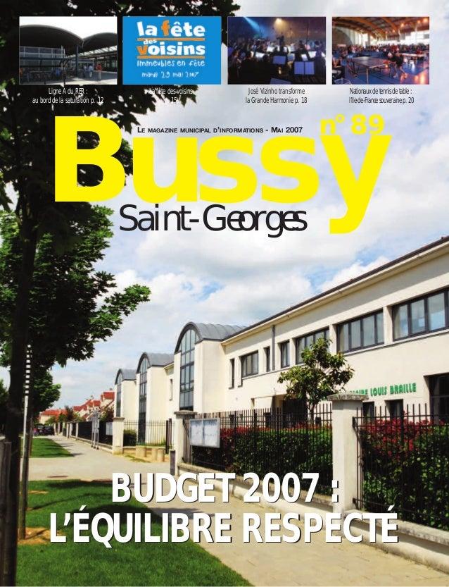 Journal de bussy numéro 89
