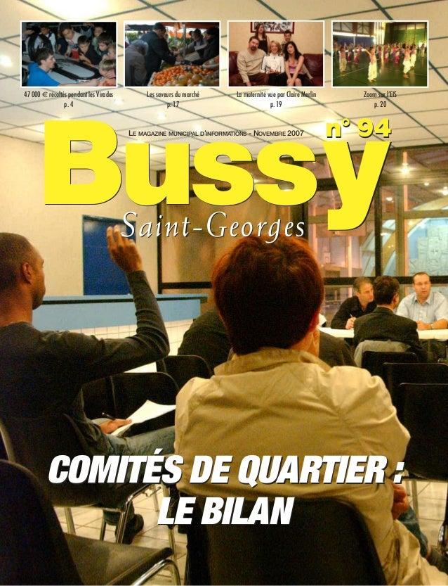 Journal de bussy numéro 94