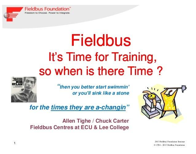Training and Education Presentation