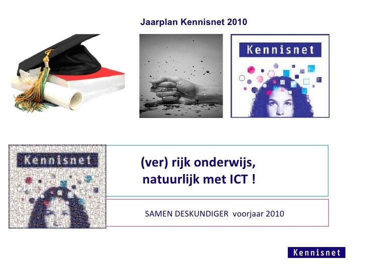 Jaarplan Kennisnet 2010 Resi