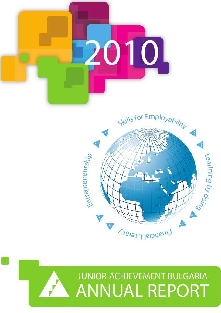 JA Bulgaria Annual Report 2010
