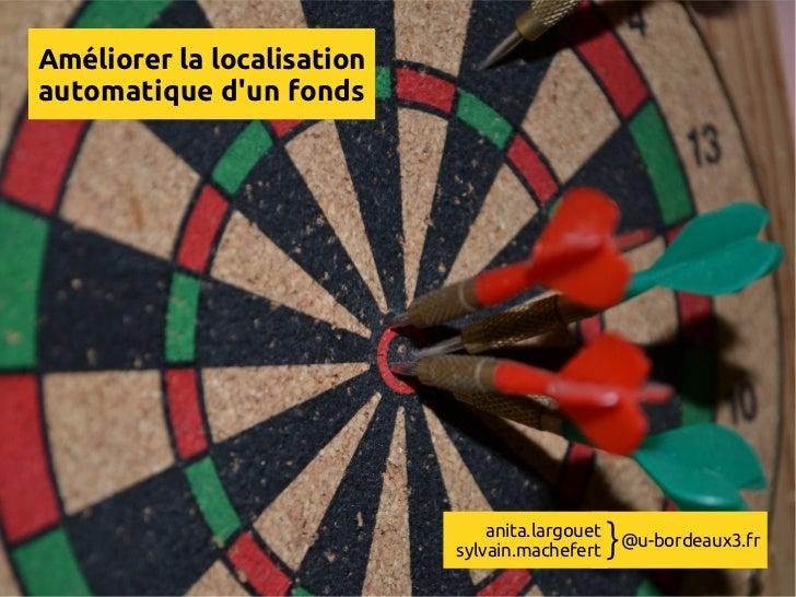 Journées Abes 2012 - Présentation bordeaux 3