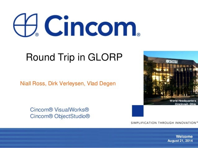 Round Trip in GLORP