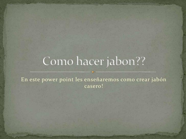 Jabon