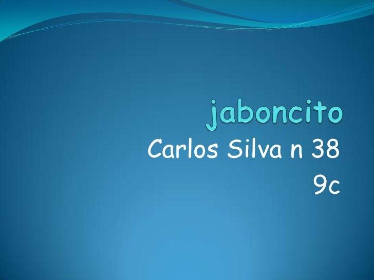 Carlos Silva n 38               9c