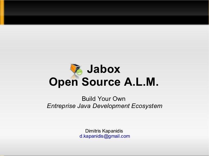 Jabox presentation