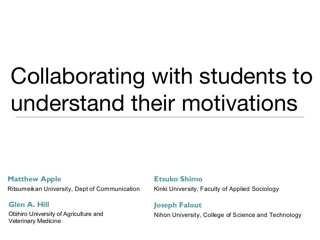 Collaborating with students to understand their motivation