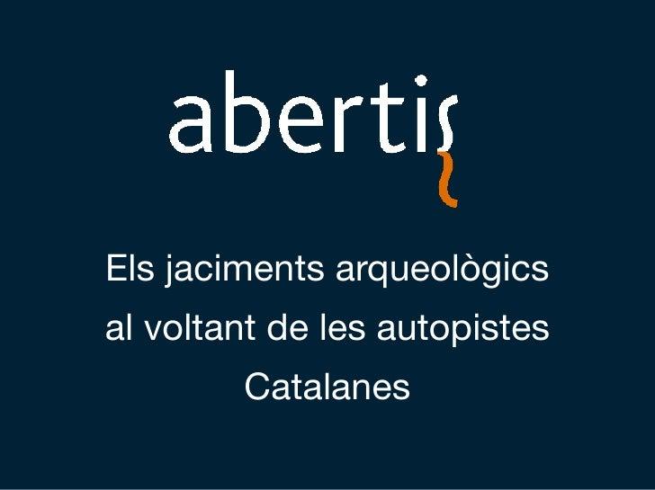Jaciments ( Abertis)