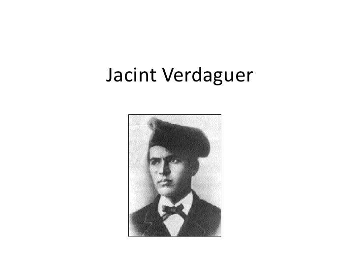 Jacint Verdaguer.Laura Pastor