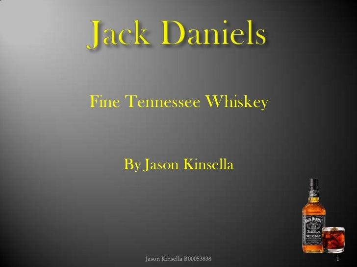 Jack Daniels presentation