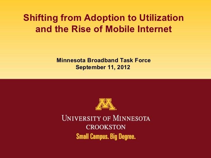 Jack Geller on Broadband Adoption in Minnesota