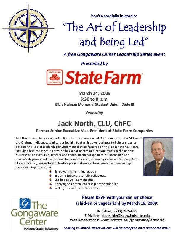 Jack north invite