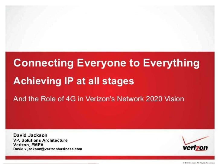 Mr Jackson Verizon IP at all stages