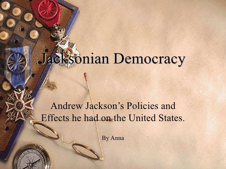 23f. Jacksonian Democracy and Modern America