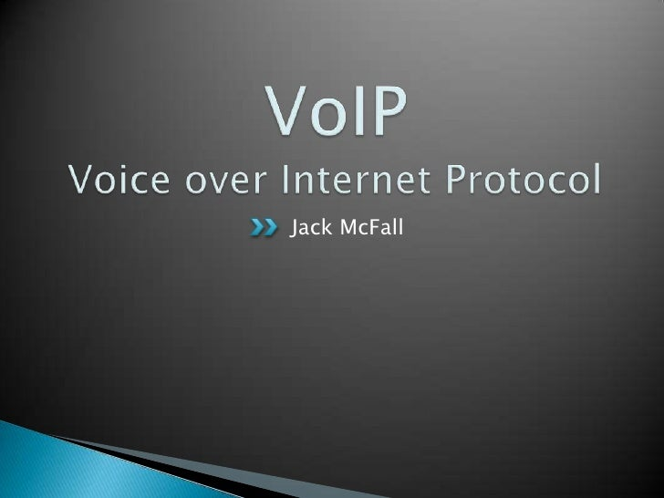VoIP's