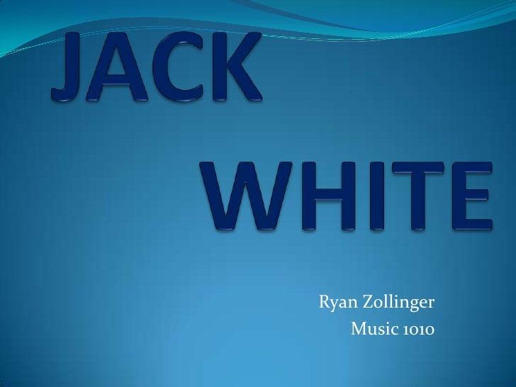 Jack white Powerpoint