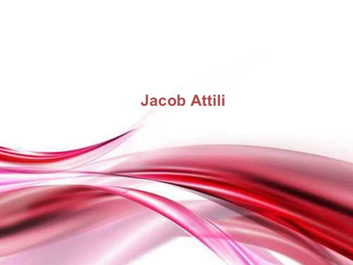 Jacob AttiliFree Powerpoint Templates                            Page 1