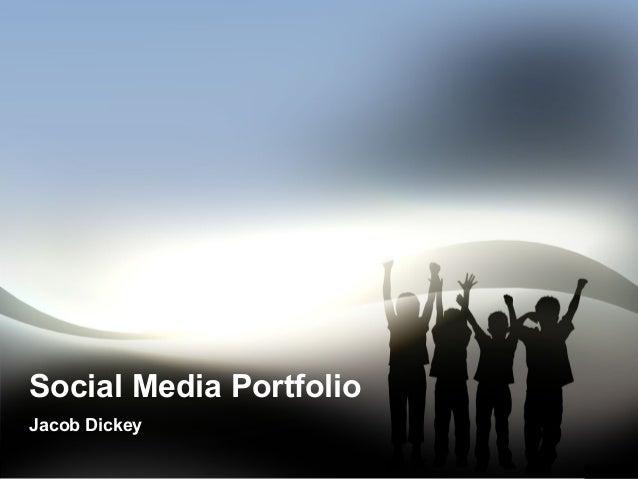 Social Media PortfolioJacob Dickey