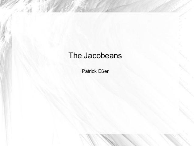 Jacobeans patrick corrected