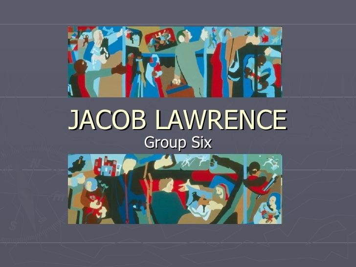 JACOB LAWRENCE Group Six
