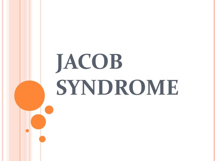 xyy syndrome jacob syndrome Xyy syndrome is also sometimes called jacob's syndrome, xyy karyotype, or yy syndrome males with xyy syndrome live typical lives for the most part.