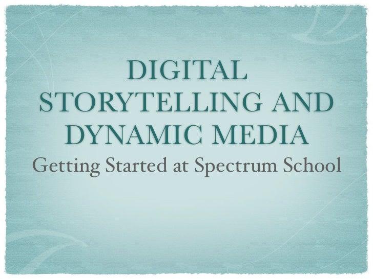 Jaconette digital storytelling presentation