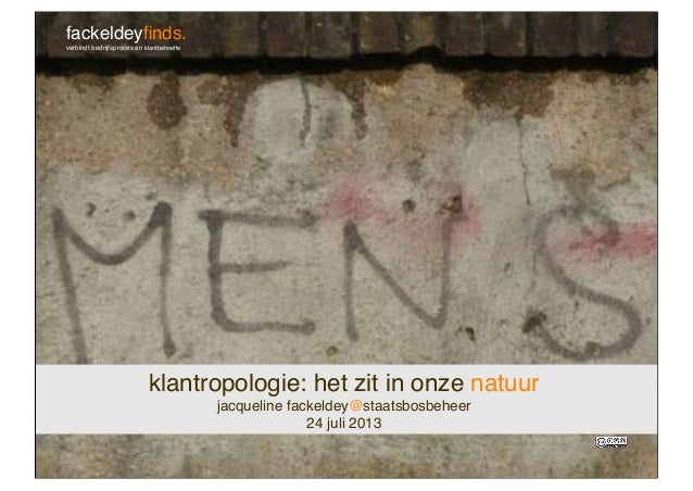 Workshop klantropologie voor Staatsbosbeheer