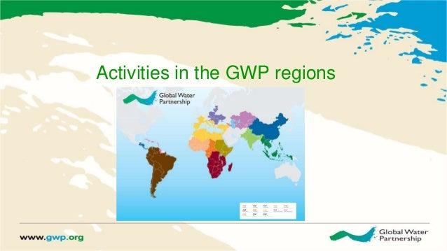 Activities in the GWP regions