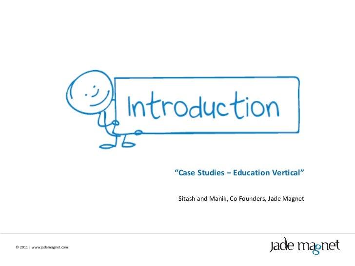 Jade Magnet Case Studies - Education Vertical