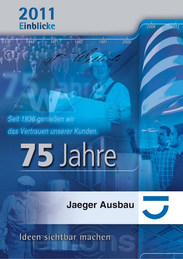 Broschüre Jaeger Ausbau 2011