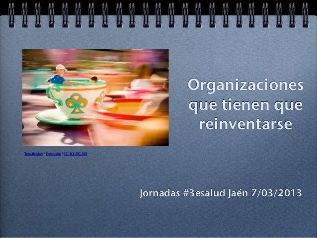 Organizaciones                                                 que tienen que                                             ...