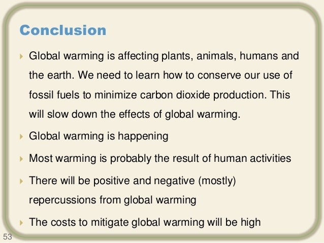 the problems of global warming essay