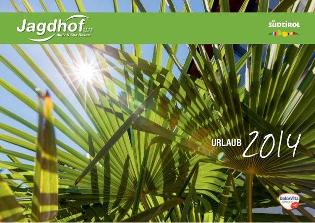 Hotel Jagdhof Katalog 2014