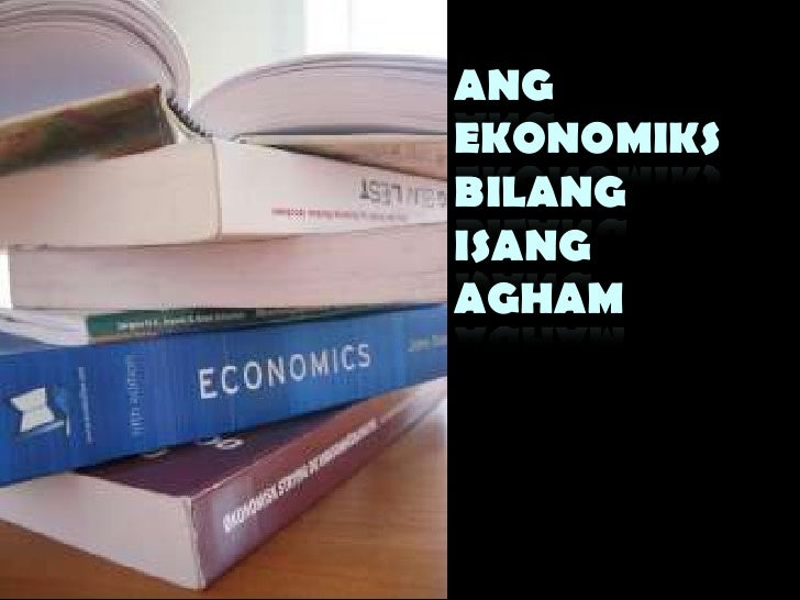 Jagto  ekonomiks-lesson 1