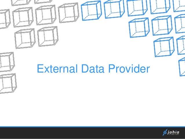 External Data Provider