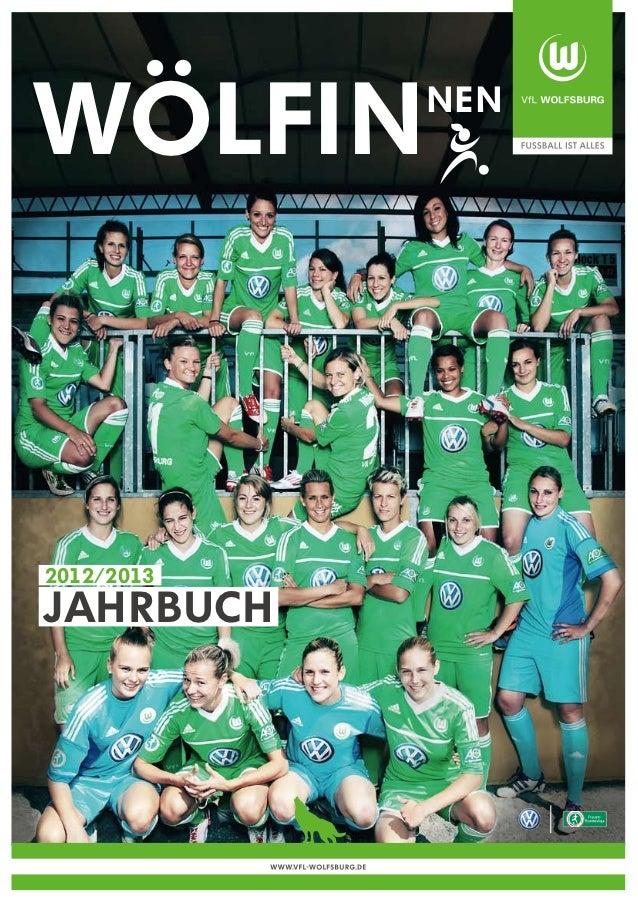 WOLFiN                             nen2012/2013Jahrbuch            WWW.VFL-WOLFSBURG.DE
