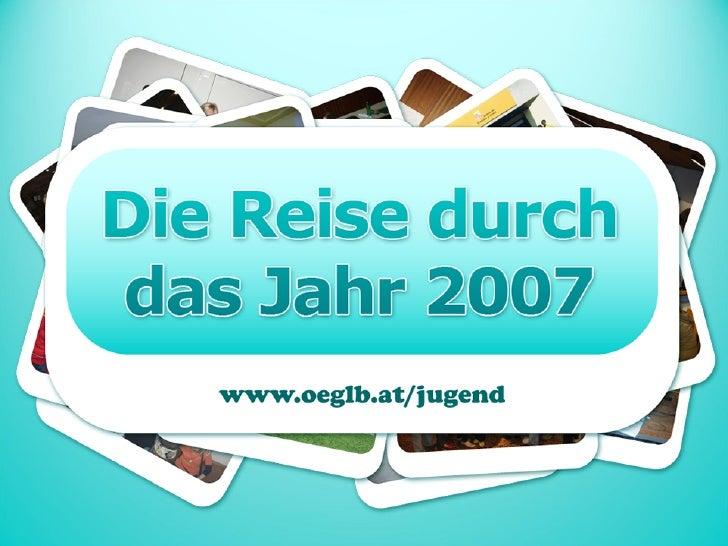Jahresrückblick JK - ÖGLB 2007