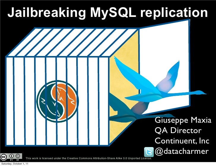 Jailbreaking mysql replication