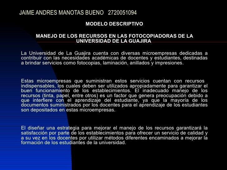 Jaime Manotas Bueno